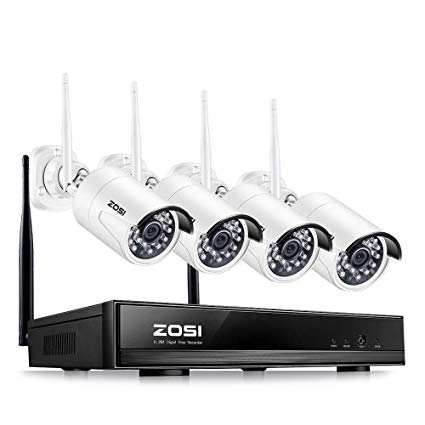 nvr kit camera wifi zozi avec 1To sur Actoum