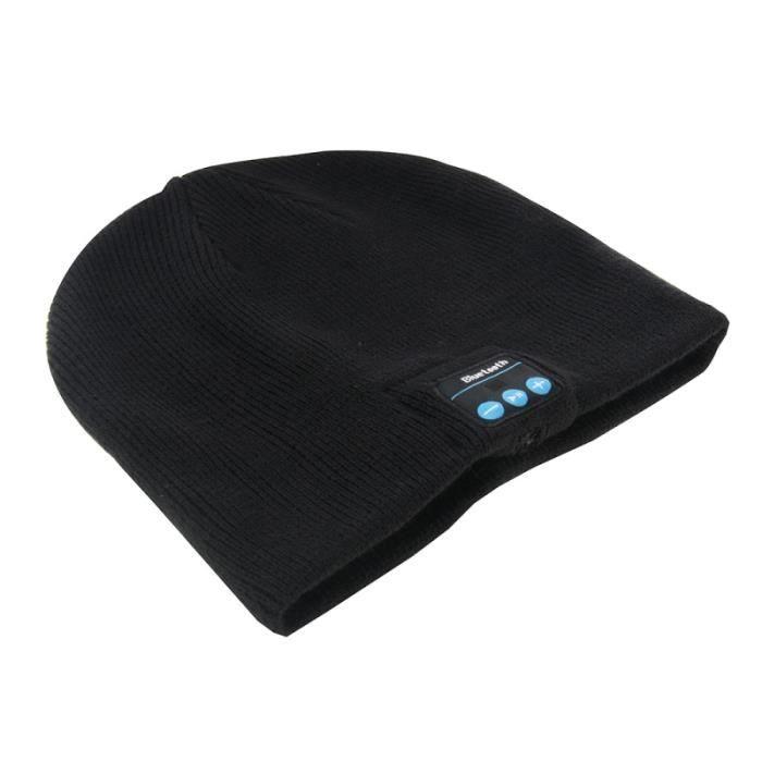 puersit Bluetooth Bonnet Casque de Musique Ext/érieur Connexion Bluetooth san Fil avec Micro Haut Sport avec Un Casque St/ér/éo