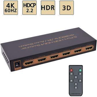 HDMI Switch 5 Entrées 1 Sortie Switch HDMI Commutateur