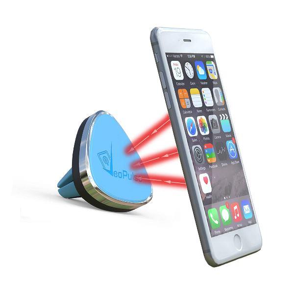 Support téléphone magnétique de Voiture pour-Grille daération