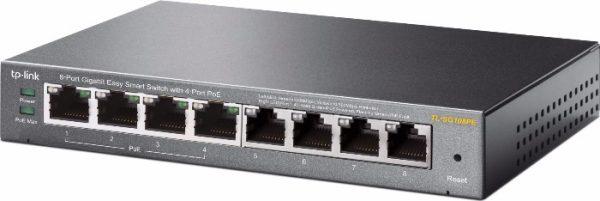 switch 8 ports gigabit -4ports Poe