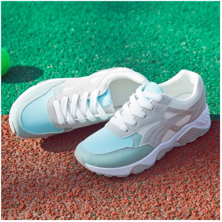 chaussure-femme-basket-air-blue