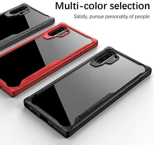 ORETECH Coque Galaxy Note 10 Plus, Coque Samsung Note 10 Plus Transparente Housse Hybride Robuste Antichoc Coque Note 10 Plus Silicone Anti Rayures ...